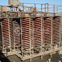 100tph 광물 처리 농축기 중력 골드 나선형 주물 분리기
