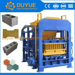 기계 시멘트 벽돌 만들기 기계 공장 가격을 만드는 Qt 4-15 완전히 자동적인 콘크리트 블록