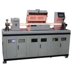 1200 grados de temperatura alta Mini mejorado Plasma Chemical Vapor Deposition Pecvd Horno de tubo de cuarzo