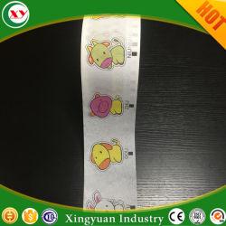 Imprime un pañuelo de papel para pañales