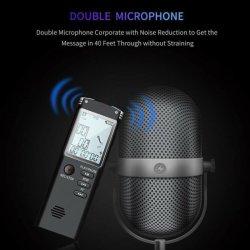 Снижение уровня шума Диктофон USB Профессиональный диктофон цифровой звуковой рекордер Wav MP3