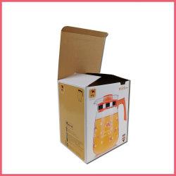 製造業者の中国のカスタムロゴは水差しのコップのマグのためのリサイクルされた段ボールペーパー小売りの製品の出荷の郵便利用者のギフトの包装のカートンボックスを印刷した