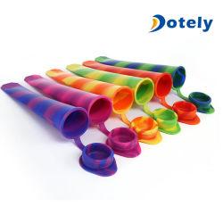 La glace en silicone Popsicle Moules Moules Popsicle de gros de la glace Pop Maker