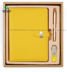 Custom мягкой кожи выделяется на фоне записи эксклюзивный подарок для продвижения для ноутбука с USB
