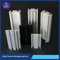 Il profilo di rettangolo dell'espulsione alluminio/di alluminio della lega, fabbrica dell'OEM si è sporto prezzo lavorante di CNC