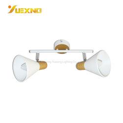 E14 E27 max 40W fer en bois d'éclairage de plafond décoratif lampe LED Spot Light