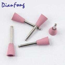 Cr106m de alta qualidade em forma de copo-de-Rosa Médio Bur Baixa Velocidade (RA/CA) polimento dental Bur Politriz de silício para a loiça