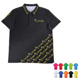 Пользовательские Sublimated цифровой цветной печати T Man мужчин поле для гольфа рубашки поло