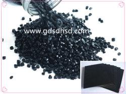 PP/PE Mateiral Masterbatch de color negro para inyección extrusión
