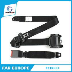 Feb003 Elr, cinturón de seguridad de 3 puntos del cinturón de seguridad de coche universal con función de bloqueo de emergencia