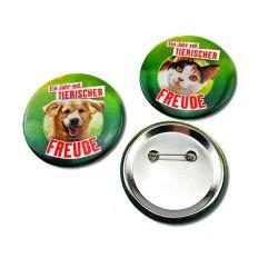Forma redonda com monograma personalizado de preços no atacado os pinos personalizada Botão de Metal