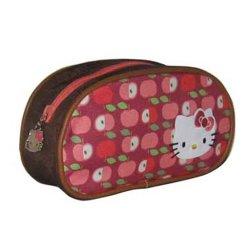 Hello Kitty distribuidor estudiante de diseño de fondo el caso de la bolsa de plumas
