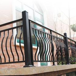 Metallzaun-Treppen-Geländer-Roheisenbaluster-Entwurf der China-Fabrik