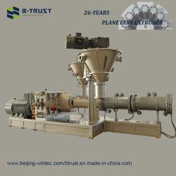 La extrusora de rodillos planetarios Btrust ampliamente utilizado en el Material de extrusión de termoplásticos
