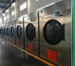 100kg Droge de Rotatie van de wasserij, de Drogende Machine van de Winkel van de Wasserij voor Jeans, TextielStof en de Roterende Linnendroger van de Hoge Efficiency van het Linnen 180kg