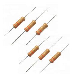 560K Ohms 1/4W Bague de couleur de 1 % de résistances à couche métallique CMS
