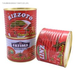 La pâte de tomate 2200g, la pâte de tomate en conserve, usine de pâte de tomate, sauce tomate