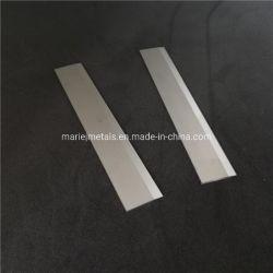 Lâmina de carboneto de tungsténio e uma faca para cortar de fibras químicas e fibra de vidro