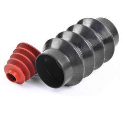 Moulé par injection Nitril Oilproof noir couvercle antipoussière en caoutchouc ci-dessous