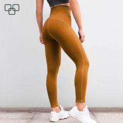 Bonito largo entrenamiento personalizado de Impresión Digital Panties ropa deportiva Fitness