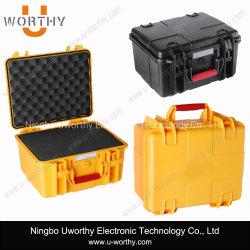 Cutomのプラスチック注入によって形成されるABS物質的な携帯用ロックできる電子機器の箱