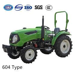 L'agriculture petit jardin 4WD mini ferme de la pelouse de l'agriculture agricole Diesel à quatre roues du tracteur Compact de marche