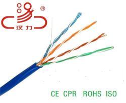 Cat5 LANケーブルUTP Cat5e銅100MHzテストパス