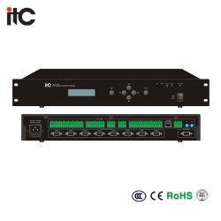 O sistema de conferência totalmente digital e Controlador do Centro de Rede