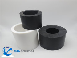 테플론 PTFE 틈막이 세탁기를 위한 단단한 바 로드 관 구렁