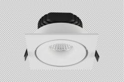 FAR ダイレクトの埋め込み型 SAA DImmable CRI90 2700K ゲストルームのダウンライト LED ライト 6W 8W 12W 20W