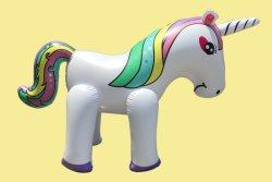 Unicorn 모양 물뿌리개 팽창식 장난감