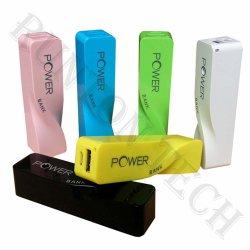 Trenzado Universal portátil Perfume lindo Mini Banco de energía móvil RT-U15
