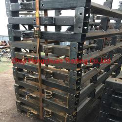 Soporte de la polea de acero al carbono templado Marcos de soporte para exportar