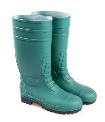 La seguridad de plástico de Rainboots zapatos botas de lluvia en Guangzhou