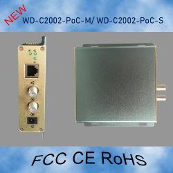 Kit ponte Ethernet coaxial com 2000Mbps