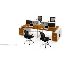 스크린 가구가 있는 현대적인 모듈식 사무실 파티션 큐비클(FOH-R3214-A)