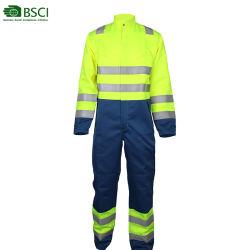 Groothandel Veiligheidskleding Voor Heren Uniform Fireproof/Brandwerend/Reflecterend/Lichtgewicht/Beschermende Kleding Hi Vis Overalls
