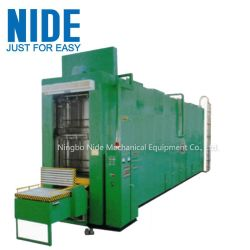 Automatique de bobine de stator imprégnation de vernis de rouler la machine