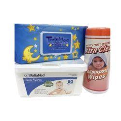 Verschiedenes Paket-Baby wischt nasses Gewebe-nasse Serviette-Baby-Sorgfalt-Produkte ab