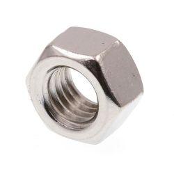 صامولة سداسية من الفولاذ المقاوم للصدأ طراز IN934 ANSI B18.2.2 ISO 4032 صامولة / SS304 316L A194 م صواميل سداسية الرأس ثقيلة