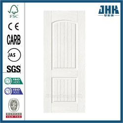 Fuera de plano mejor HDF la puerta de melamina de roble blanco de la piel (JHK-MN08)