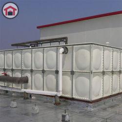Modulari serrati vetroresina montano il serbatoio di acqua bevente di plastica rettangolare portatile sezionale del serbatoio di acqua del fuoco del serbatoio dell'acqua del comitato FRP/GRP del serbatoio di acqua SMC