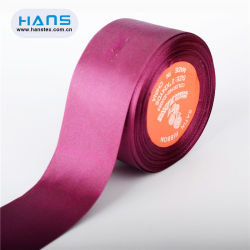 Hans 2019 최신 판매 색깔 넓은 공단 리본