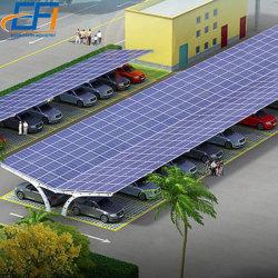 太陽駐車場ブラケットを取付ける駐車場の太陽構造の太陽車