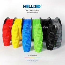 Hola3d Fdm impresora 3D El Pla de filamentos de 1,75mm de filamentos de impresión 3D