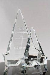 Família de Ave Prêmios cristal placa bacteriana (#1099, #1098)