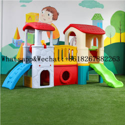 Пластиковый слайд для детей игровая площадка в помещении малого сдвиньте опускное стекло пластмасс детей игрушки игровая площадка для выдувания