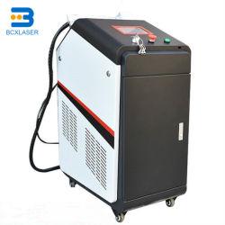 50W 100W 200W PINTURA Ferrugem Remover óleo de máquina de limpeza Laser de superfície de metal e depois do preço do tratamento de soldadura