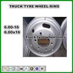 Tubo de caminhões jantes dos pneus 16-6 600-16 6.00-16.00 Rim, R 16 aro do pneu, 750r16 7.50R16 aro dos pneus, Pneus de camiões ligeiros LTR jantes dos pneus