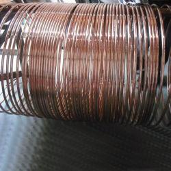 銅の上塗を施してある鋼鉄固体円形のコンダクター0.07mmの厚さ